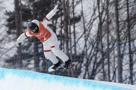 February 8, 2018; Pyeongchang, South Korea; Shaun White (USA) practices during the snowboard halfpipe training session during the Pyeongchang 2018 Olympic Winter Games at Phoenix Snow Park. Mandatory Credit: Kyle Terada-USA TODAY Sports