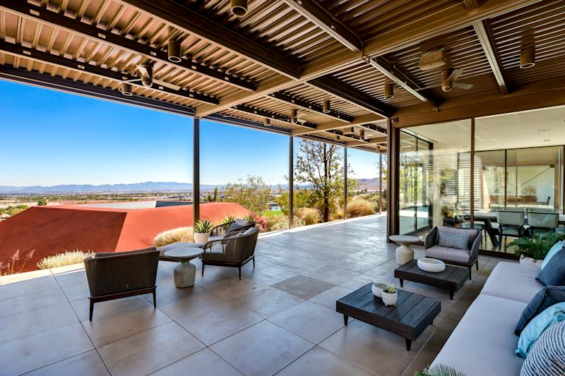 Former MGM Resorts International CEO Jim Murren has put his Las Vegas home up for sale. Photo credit: The Ivan Sher Group