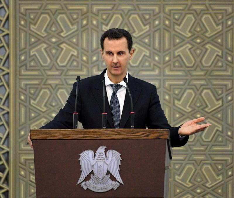 Syria's Assad says Kurdish controlled northeast Syria must return to state authority