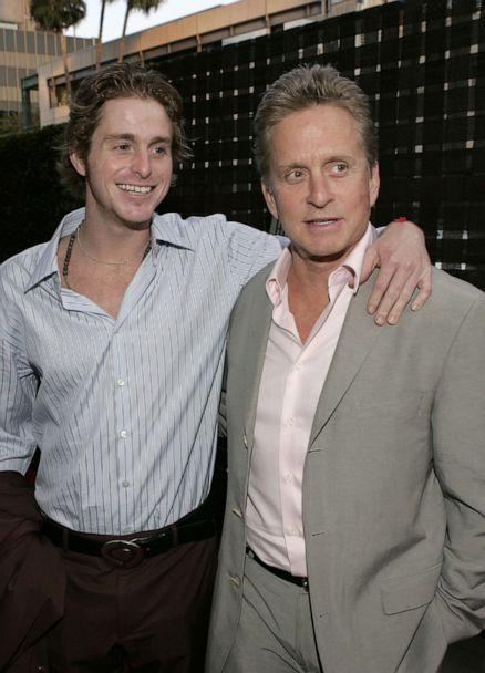PHOTO: Cameron Douglas and Michael Douglas during HBO's 'A Father...A Son...Once Upon a Time in Hollywood' Los Angeles premiere in Beverly Hills, Calif., July 14, 2005. (Mathew Imaging/FilmMagic via GettY Images, FILE)