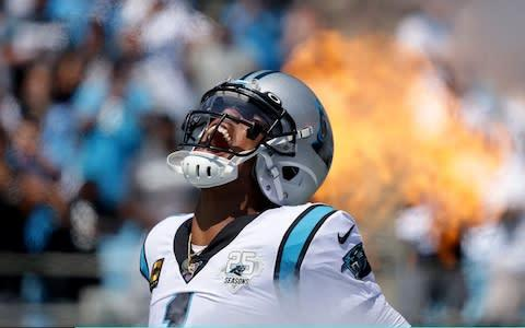 <span>The health of Cam Newton's shoulder is vital for the Panthers</span> <span>Credit: Getty Images </span>