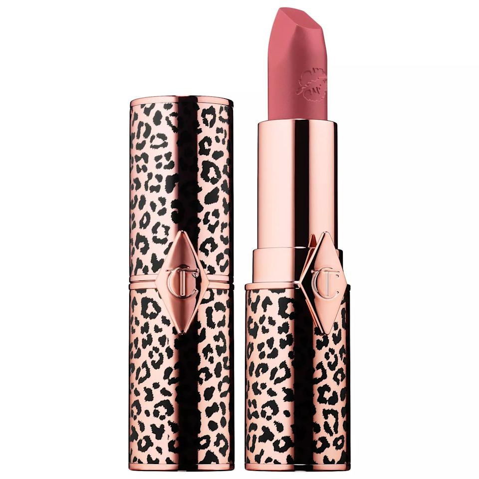 """<p>Give your Gemini friend a lipstick that matches their personality with this animal-print gem from Charlotte Tilbury. Yes, it's pretty, but don't worry, it's also high-quality. Hot Lips lipstick is available in 11 shades, but Glowing Jen is especially fabulous, in our opinion.</p> <p><strong>$37</strong> (<a href=""""https://www.sephora.com/product/hot-lips-lipstick-2-0-P446609?icid2=products%20grid:p446609"""" rel=""""nofollow"""" target=""""_blank"""">Shop Now</a>)</p>"""