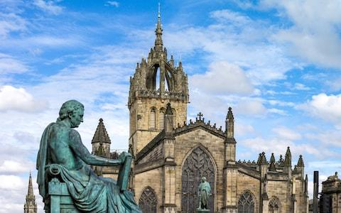 St Giles' Cathedral - Credit: This content is subject to copyright./AGF