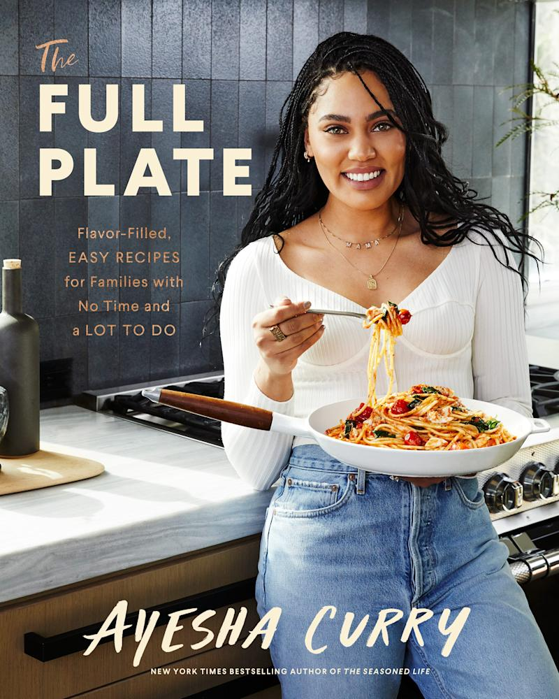 "Ayesha Curry's second cookbook, ""The Full Plate,"" is available now."