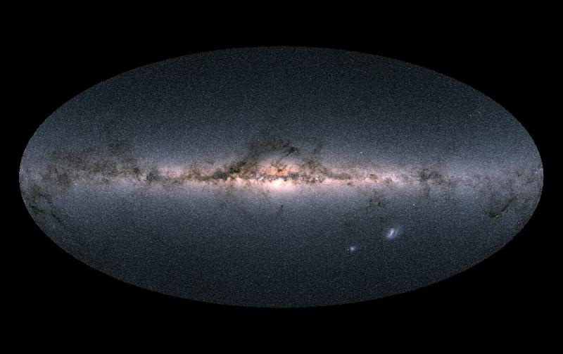 The Gaia satellite collected the data on some 1.7 billion stars from its unique vantage point in space about 1.5 million kilometres (930,000 miles) from Earth