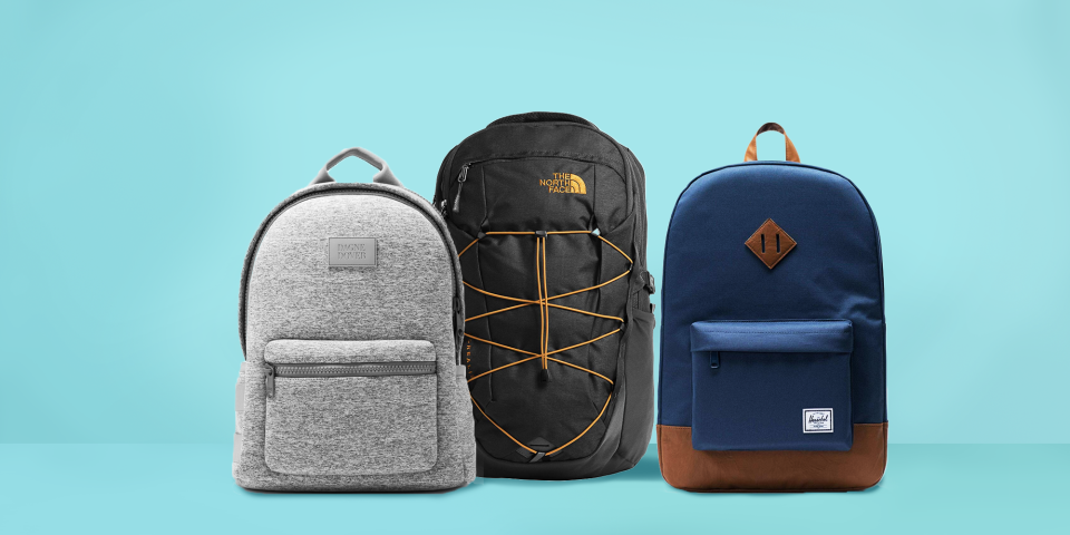 """<p>As a college student, there's a good chance you'll be stuck running to and from classes all day long. That's why a good backpack is essential — you need somewhere to stash your <a href=""""https://www.goodhousekeeping.com/life/g20917067/cute-notebooks/"""" rel=""""nofollow noopener"""" target=""""_blank"""" data-ylk=""""slk:notebooks"""" class=""""link rapid-noclick-resp"""">notebooks</a>, <a href=""""https://www.goodhousekeeping.com/life/g21565162/best-pens/"""" rel=""""nofollow noopener"""" target=""""_blank"""" data-ylk=""""slk:pens"""" class=""""link rapid-noclick-resp"""">pens</a>, textbooks and laptop. Since your <a href=""""https://www.goodhousekeeping.com/childrens-products/kids-backpack-reviews/g149/best-kids-backpacks/"""" rel=""""nofollow noopener"""" target=""""_blank"""" data-ylk=""""slk:high school backpack"""" class=""""link rapid-noclick-resp"""">high school backpack</a> is probably due for an upgrade, it's time to invest in something more durable this <a href=""""https://www.goodhousekeeping.com/back-to-school-ideas-and-advice/"""" rel=""""nofollow noopener"""" target=""""_blank"""" data-ylk=""""slk:back-to-school season"""" class=""""link rapid-noclick-resp"""">back-to-school season</a>. </p><p>The <a href=""""http://www.goodhousekeeping.com/institute/about-the-institute/a19748212/good-housekeeping-institute-product-reviews/"""" rel=""""nofollow noopener"""" target=""""_blank"""" data-ylk=""""slk:Good Housekeeping Institute"""" class=""""link rapid-noclick-resp"""">Good Housekeeping Institute</a> Textiles Lab reviews all kinds of back to school essentials like <a href=""""http://www.goodhousekeeping.com/clothing/g28087295/best-laptop-bags-for-women/"""" rel=""""nofollow noopener"""" target=""""_blank"""" data-ylk=""""slk:laptop bags"""" class=""""link rapid-noclick-resp"""">laptop bags</a> and backpacks (including <a href=""""http://www.goodhousekeeping.com/childrens-products/kids-backpack-reviews/g149/best-kids-backpacks/"""" rel=""""nofollow noopener"""" target=""""_blank"""" data-ylk=""""slk:backpacks for kids"""" class=""""link rapid-noclick-resp"""">backpacks for kids</a>, <a href=""""http://www.goodhousekeeping.com/travel-products/g31673527/best-tr"""