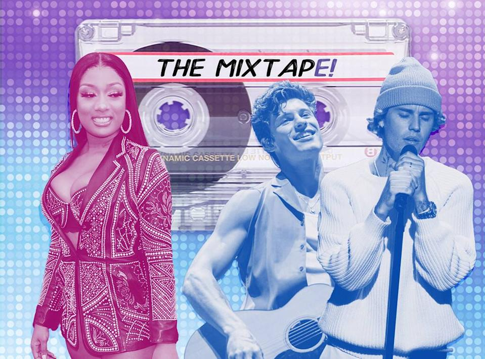 The MixtapE!, New Music Friday, Megan Thee Stallion, Shawn Mendes, Justin Bieber