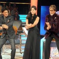 Katrina Kaif, Shah Rukh Khan Have A Blast On 'Kaun Banega Crorepati' Sets