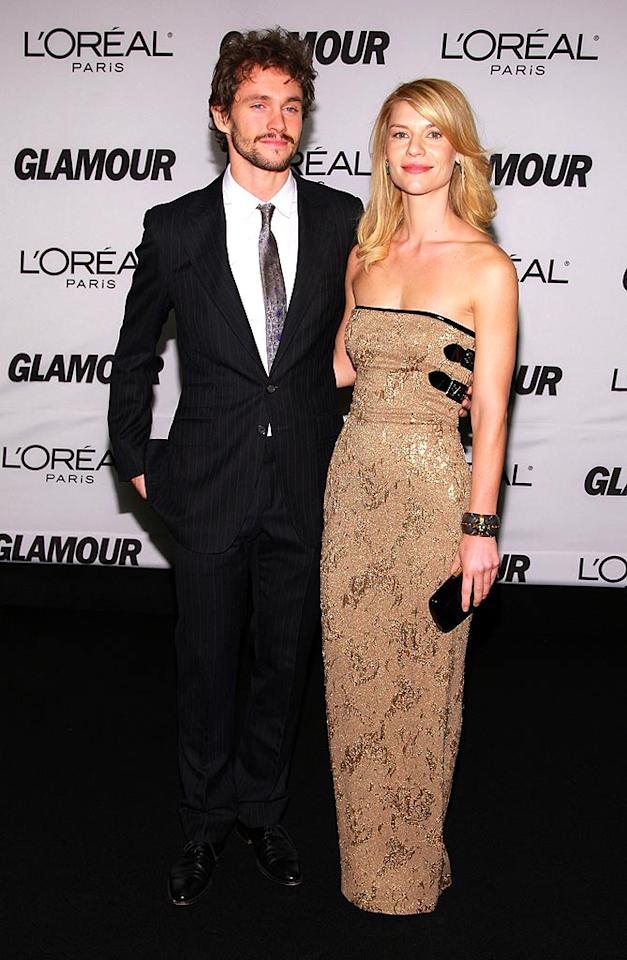 """Claire Danes makes an appearance with her latest beau Hugh Dancy. Doesn't the British actor look like a younger version of her ex Billy Crudup? Dimitrios Kambouris/<a href=""""http://www.wireimage.com"""" target=""""new"""">WireImage.com</a> - November 5, 2007"""