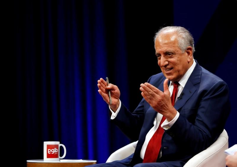 Khalilzad sounds upbeat note on chances for intra-Afghan peace talks