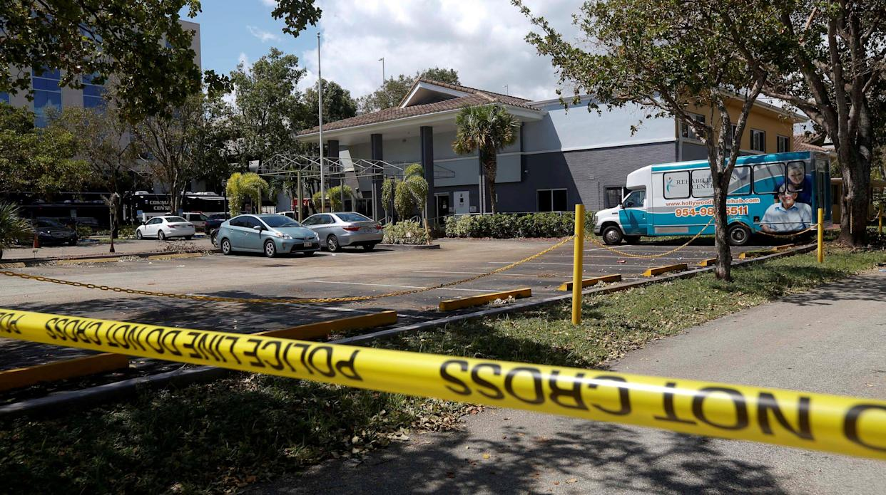 The Rehabilitation Center atHollywood Hills is located in Hollwood, Florida, roughly 20 miles north of Miami. (Photo: Andrew Innerarity/Reuters)