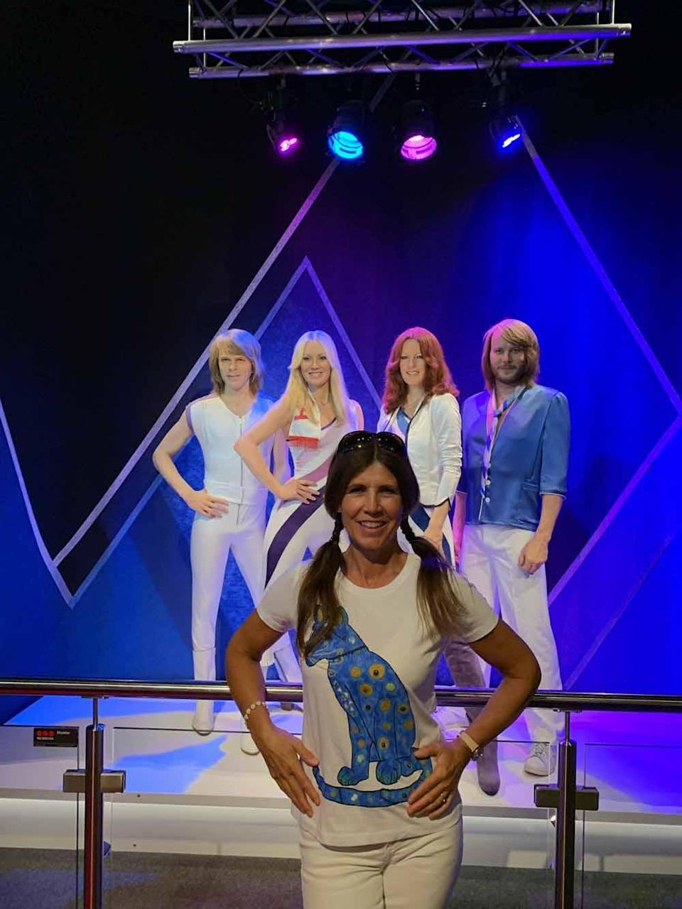 Jane has always dreamed of seeing ABBA live since she was nine years old (Collect/PA Real Life).
