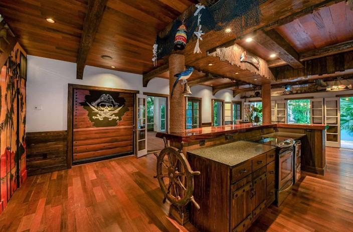 Dale Earnhardt Jr. had a pirate-themed kitchen in his Key West home that recently sold for $3 million.