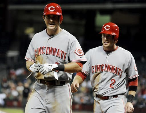 Reds pick up 6th straight win, rally past Astros