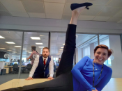 """<p>Mercurio shared this image along with a shoutout to the legend that is Kate Fleming; """"In honour of #LineofDuty6 premiering on Sunday night @BBCOne, here's my tribute to queen of undercover DI Kate Fleming, aka class clown @Vicky_McClure."""" </p>"""