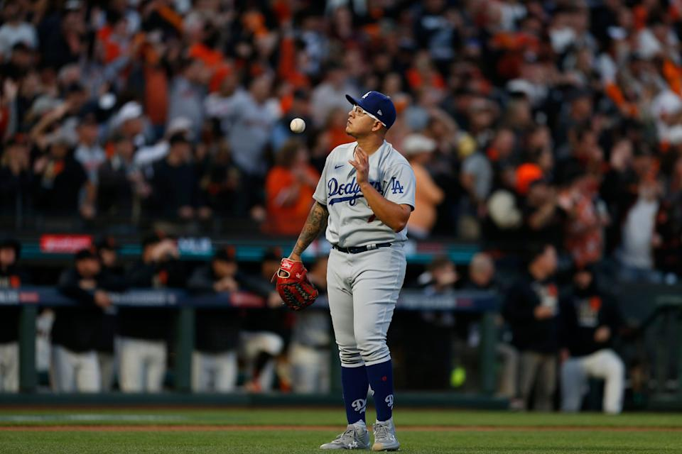 The Dodgers opted not to start 20-game winner Julio Urias in Game 5 against the Giants.