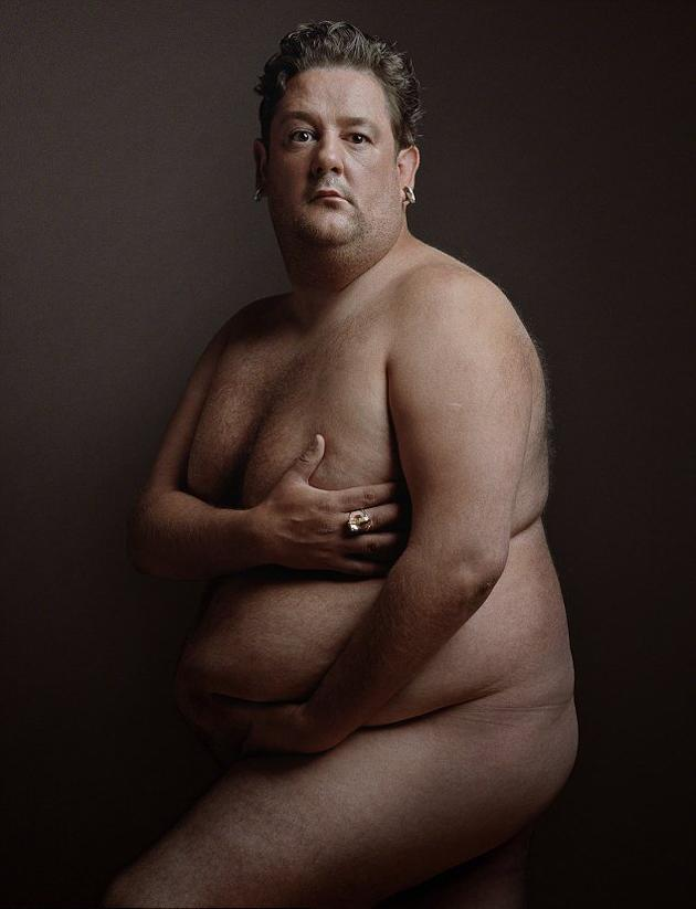 This week the National Portrait Gallery has unveiled a striking snap of Johnny Vegas in an exhibition celebrating comedians.
