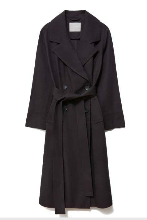 """<p><a class=""""link rapid-noclick-resp"""" href=""""https://go.redirectingat.com?id=127X1599956&url=https%3A%2F%2Fwww.everlane.com%2Fproducts%2Fwomens-slouchy-trench-black&sref=https%3A%2F%2Fwww.harpersbazaar.com%2Fuk%2Ffashion%2Fwhat-to-wear%2Fg16661706%2Fbest-trench-coats%2F"""" rel=""""nofollow noopener"""" target=""""_blank"""" data-ylk=""""slk:SHOP NOW"""">SHOP NOW</a></p><p>All-black looks are the oldest and easiest trick in the book when it comes to styling (just Google Mary-Kate and Ashley Olsen if you need confirmation). The cherry on top of a tonal outfit, Everlane's featherweight Lyocell and cotton-blend trench has a drapey cut and minimal fastenings.</p><p>The Drape Trench, £140, <a href=""""https://go.redirectingat.com?id=127X1599956&url=https%3A%2F%2Fwww.everlane.com%2Fproducts%2Fwomens-slouchy-trench-black&sref=https%3A%2F%2Fwww.harpersbazaar.com%2Fuk%2Ffashion%2Fwhat-to-wear%2Fg16661706%2Fbest-trench-coats%2F"""" rel=""""nofollow noopener"""" target=""""_blank"""" data-ylk=""""slk:everlane.com"""" class=""""link rapid-noclick-resp"""">everlane.com</a></p>"""
