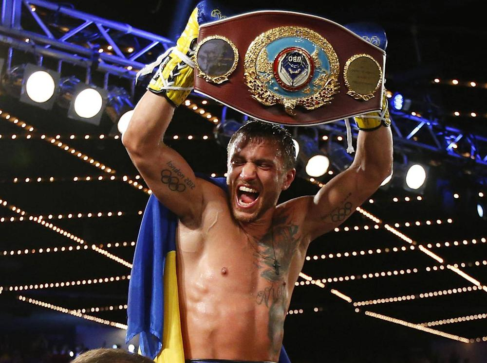 Lomachenko won a world title in just his third professional fight (Getty)