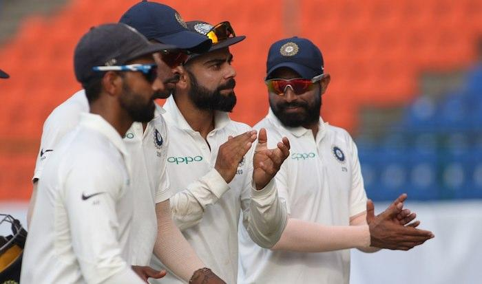 <p><span><em>Kandy, Aug 13 -India dominated the proceedings on the second day of the third and final Test against Sri Lanka skittling out the hosts in their first innings for 135 runs after posting a mammoth 487 and then restricting them to 19/1 post-imposition of follow-on at the Pallekele International Cricket Stadium here on Sunday.</em></span><br /> <br /> Sri Lanka trailed India by 333 runs at stumps. The visitors lead the three-Test series 2-0. On a day which saw 15 wickets tumble, the visitors were all out for 487 runs in their first innings shortly after lunch with Hardik Pandya producing a quickfire century lower down the order.<br /> <br /> The Indian bowlers then produced a power-packed performance to bundle out Sri Lanka for 135 runs in the first innings with left-arm wrist spinner Kuldeep Yadav leading the way with a four-wicket haul<br /> <br /> After India enforced the follow-on some 90 minutes after the tea-break, Sri Lanka once again began on a poor note and lost their opener Upul Tharanga (7) -- bowed by Umesh Yadav -- with only 15 runs on the board.<br /> <br /> Dimuth Karunaratne (12) Malinda Pushpakumara (0) were at the crease when umpires called off the day's play.</p>