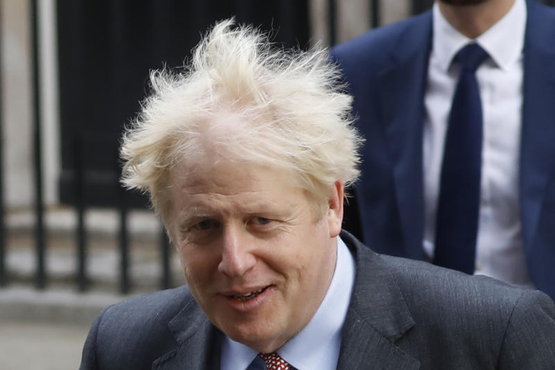 Johnson is due to take stock of the crunch talks in a conference call with von der Leyen on Saturday. Photo: Tolga AKMEN / AFP) (Photo by TOLGA AKMEN/AFP via Getty