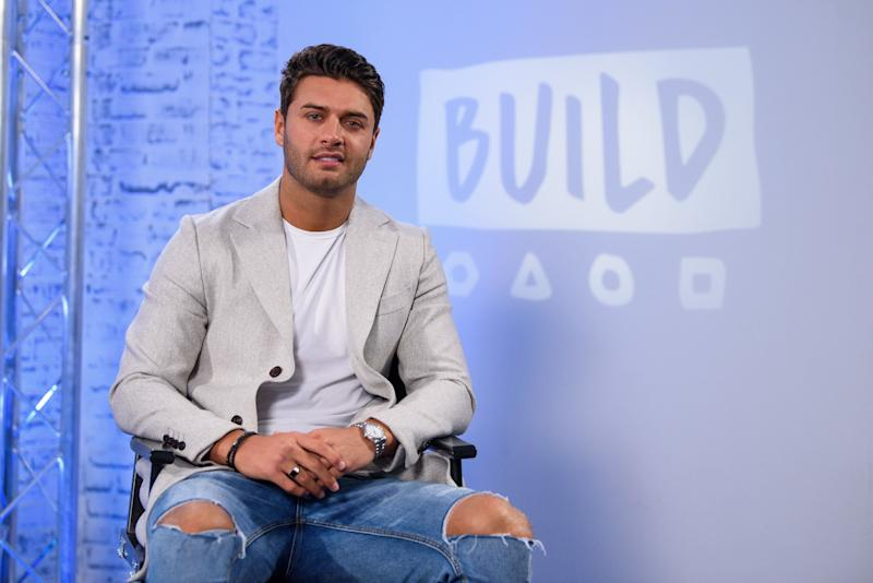 LONDON, ENGLAND - FEBRUARY 07: Mike Thalassitis from 'Celebs Go Dating' during a BUILD panel discussion on February 7, 2018 in London, England. (Photo by Joe Maher/Getty Images)