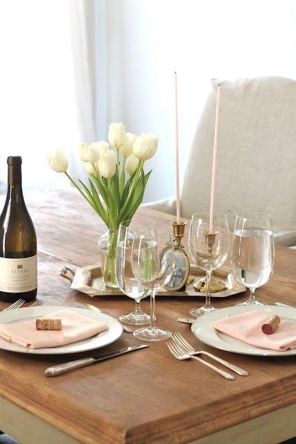 "<p>There's no need to go overboard with lovey dovey decorations, as <span class=""redactor-unlink"">Julie Blanner</span> proves with this understated table. A few simple pops of light pink and a simple bouquet of white roses is all you need to set the mood for a romantic dinner.</p><p><em>Via <a href=""http://julieblanner.com/valentines-day-dinner-at-home/"" rel=""nofollow noopener"" target=""_blank"" data-ylk=""slk:Julie Blanner"" class=""link rapid-noclick-resp"">Julie Blanner</a> </em><em><br></em></p><p><a class=""link rapid-noclick-resp"" href=""https://go.redirectingat.com?id=74968X1596630&url=https%3A%2F%2Fwww.1800flowers.com%2Frose-elegance-premium-long-stem-90109%3FcategoryId%3D400077302&sref=https%3A%2F%2Fwww.elledecor.com%2Flife-culture%2Ffun-at-home%2Fg2387%2Fvalentines-day-decor%2F"" rel=""nofollow noopener"" target=""_blank"" data-ylk=""slk:GET THE LOOK"">GET THE LOOK</a><em><br>White Roses, 1-800 Flowers, $80</em><br></p>"