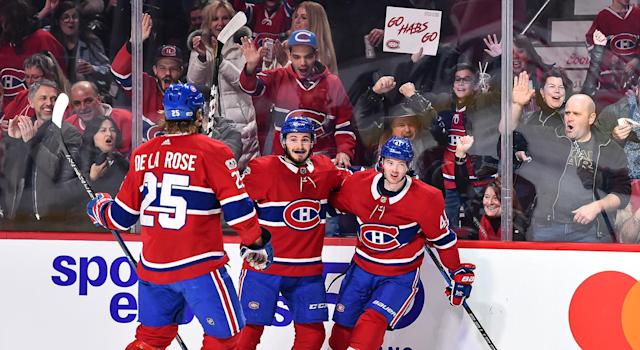"Naturally, the <a class=""link rapid-noclick-resp"" href=""/nhl/teams/mon/"" data-ylk=""slk:Montreal Canadiens"">Montreal Canadiens</a> are on a tear with No. 1 netminder <a class=""link rapid-noclick-resp"" href=""/nhl/players/3782/"" data-ylk=""slk:Carey Price"">Carey Price</a> back, and healthy. (Getty)"