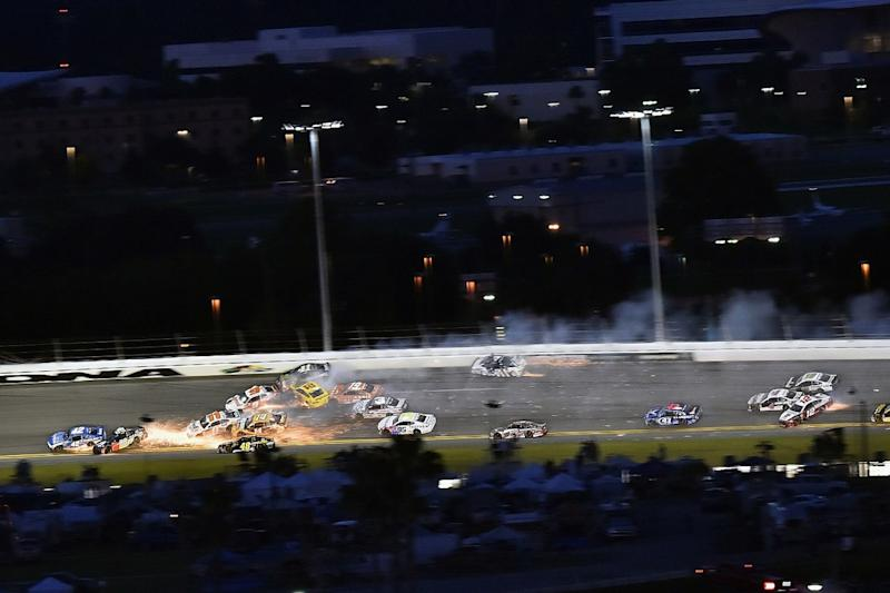 Nascar provides security for Stenhouse following Daytona incidents