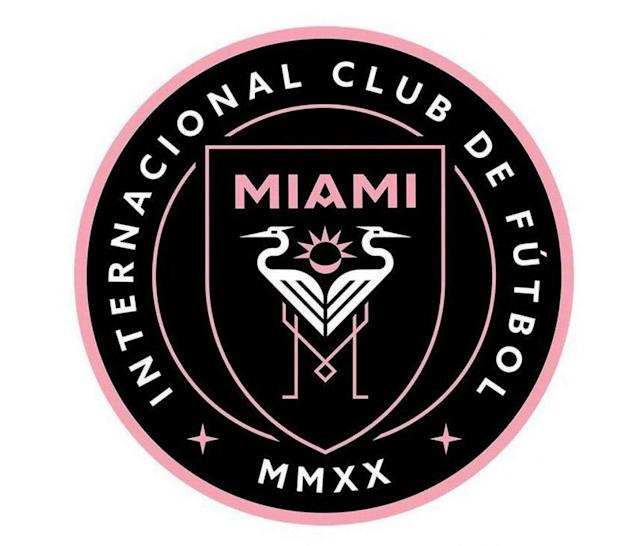 This is the rumoured new badge for Beckham's MLS franchise.