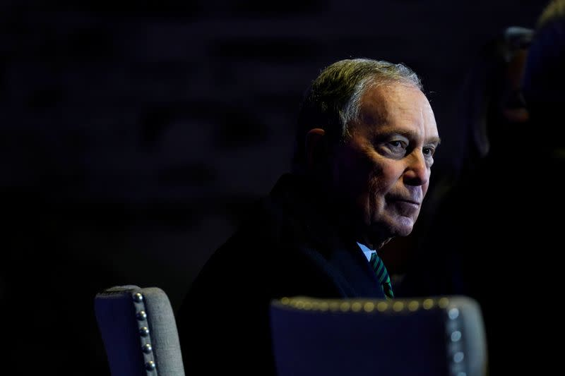 Bloomberg on his Democratic rivals: 'Trump will eat 'em up'