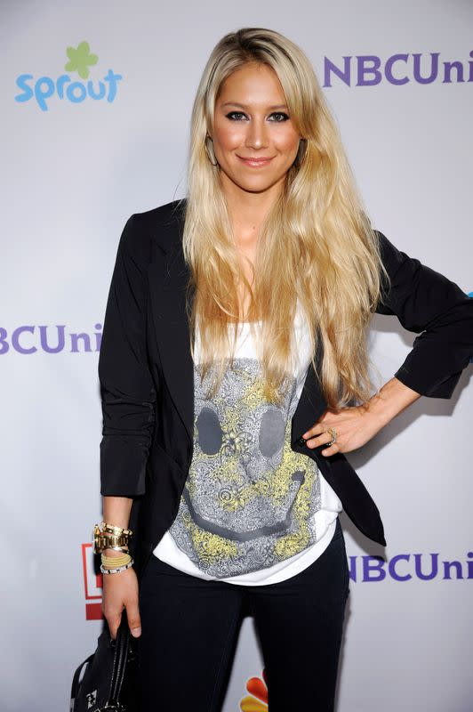 FILE PHOTO: Former professional tennis player Kournikova attends the NBC Universal Press Tour All-Star Party in Beverly Hills