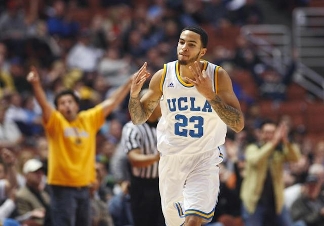 Tyler Honeycutt's signature performance at UCLA was a 33-point masterpiece at Kansas. (Getty Images)