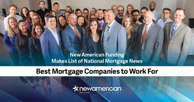 New American Funding Makes Best Mortgage Companies to Work For List