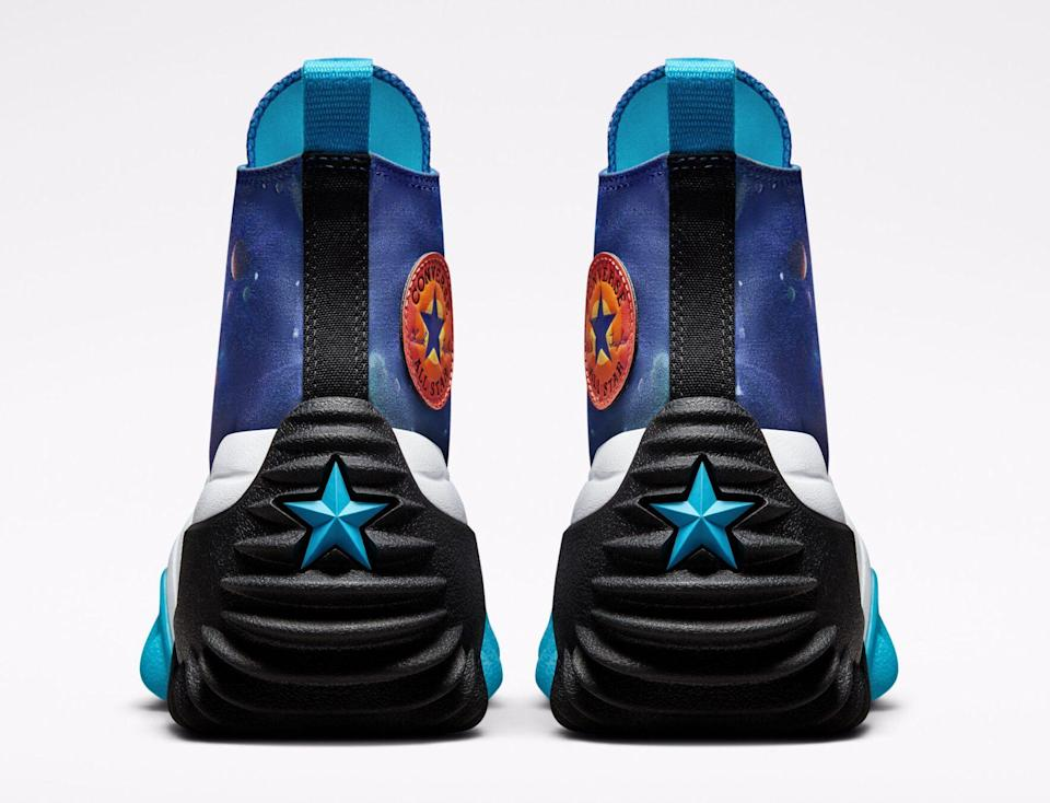 """The outsole of the """"Space Jam: A New Legacy"""" x Converse Run Star Motion. - Credit: Courtesy of Converse"""