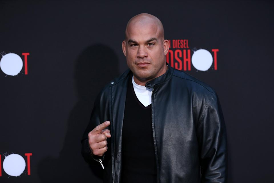 "LOS ANGELES, CALIFORNIA - MARCH 10: Tito Ortiz attends the premiere of Sony Pictures' ""Bloodshot"" on March 10, 2020 in Los Angeles, California. (Photo by Phillip Faraone/FilmMagic)"