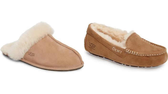 Because who doesn't love some cozy slippers?