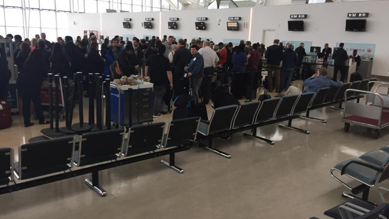 'Mock improvised explosive device' causes hours-long flight delay at Pearson