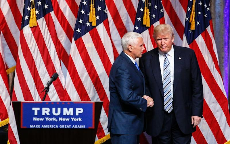 trump introduces vp pick pence as solid and a unifier
