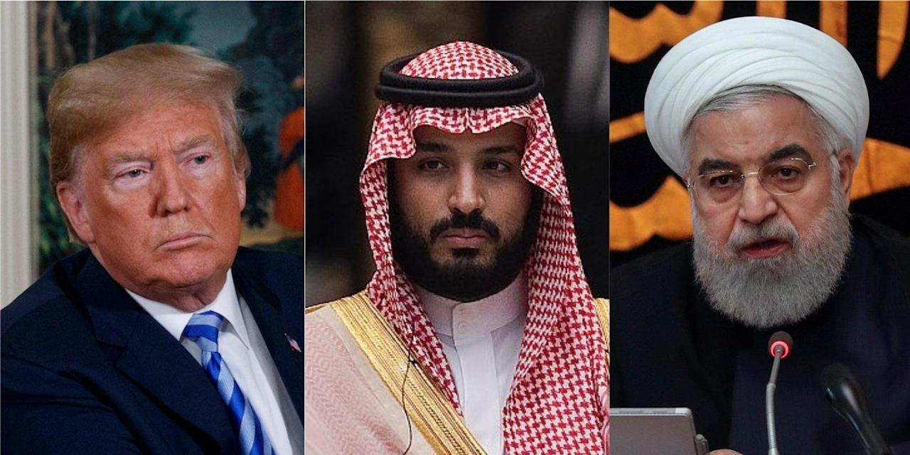 Trump says he has 'a lot of options' to punish Iran if it was behind the Saudi oil attacks. He doesn't.