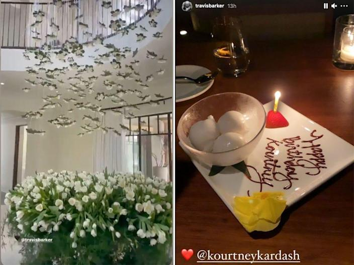 kourtney travis bday side by side