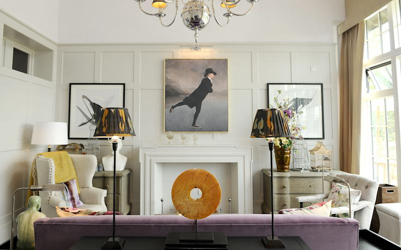 A lounge in one of Audley's existing homes - Copyright belongs to Alicia Field Photography