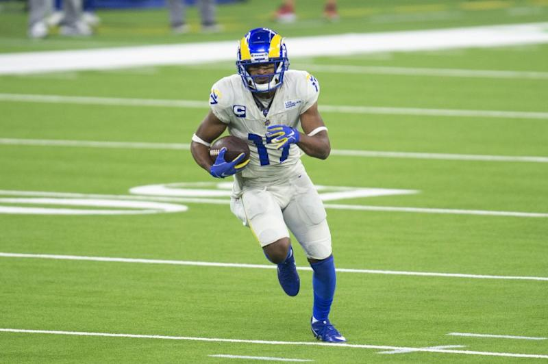 Los Angeles Rams wide receiver Robert Woods during an NFL football game against the Dallas Cowboys.