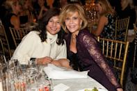 """<p><strong>Dec. 9, 2017</strong><br> """"I feel good that I'm still around — I didn't expect it,"""" Fonda told the crowd. With her dark smokey eyes and layered locks framing her face, the actress looked simply stunning, don't you think? <em>(Photo: Getty)</em> </p>"""
