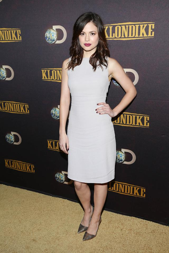 "NEW YORK, NY - JANUARY 16: Conor Leslie attends the ""Klondike"" series premiere at Best Buy Theater on January 16, 2014 in New York City. (Photo by Rob Kim/Getty Images)"