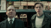 """Matthew Vaughn is taking his <em>Kingsman</em> franchise into the past with this prequel, which explores the origins of the organisation. Ralph Fiennes and Harris Dickinson are the Colin Firth and Taron Egerton of this tale, with Rhys Ifans playing the fascinating historical figure Rasputin — presumably with some distinctly Vaughn touches of chaotic bad taste. The director has <a href=""""https://uk.movies.yahoo.com/matthew-vaughn-seven-more-kingsman-movies-091724858.html"""" data-ylk=""""slk:seven more movies;outcm:mb_qualified_link;_E:mb_qualified_link;ct:story;"""" class=""""link rapid-noclick-resp yahoo-link"""">seven more movies</a> in mind, so this could be the tip of the iceberg. (Credit: 20th Century Studios)"""