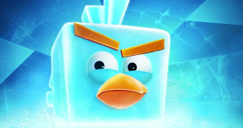 Angry Birds Space Ice Bird