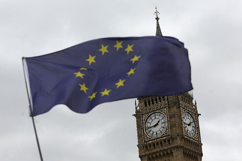 The government this week publishes the Repeal Bill, a hefty draft law aimed at scrapping the cornerstone of Britain's EU membership, the European Communities Act (AFP Photo/DANIEL LEAL-OLIVAS)