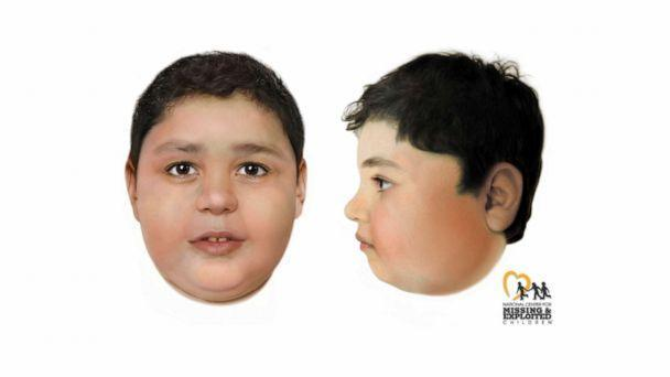 PHOTO: The Las Vegas Metropolitan Police Department has released digitally enhanced images developed by the NCMEC that depict an unidentified boy who was found dead on a hiking trail near Las Vegas on May 28, 2021. (Las Vegas Metropolitan Police Department via AP)