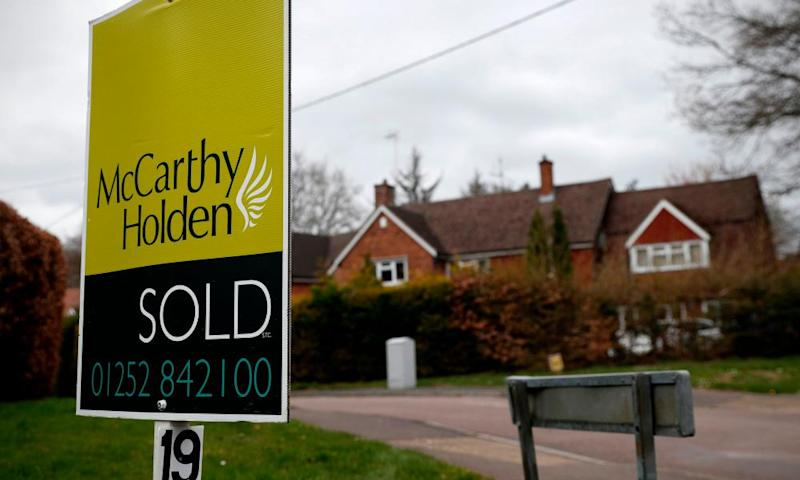 Pent-up demand after Covid lockdown fuels UK house sales surge